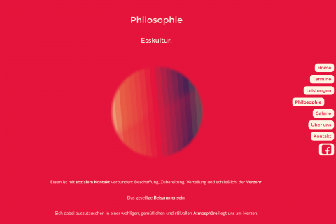 Esskultur Philosophy - Desktop