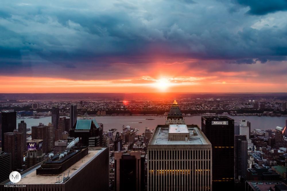 Big Apple Sunset #10