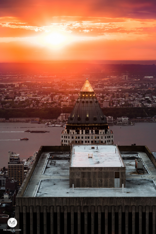 Big Apple Sunset #11